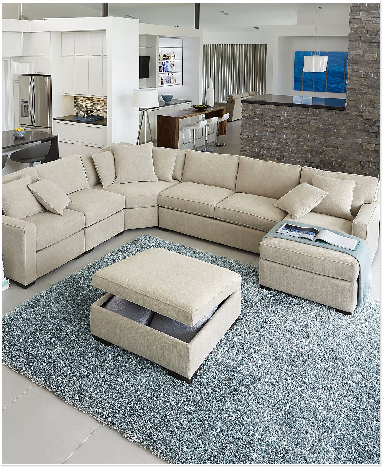 Elliot Sectional Living Room Furniture Set