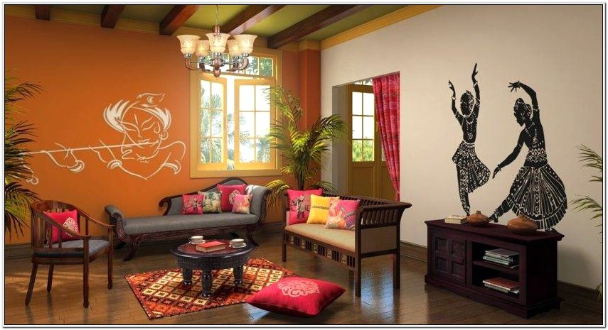 Ethnic Indian Living Room Designs