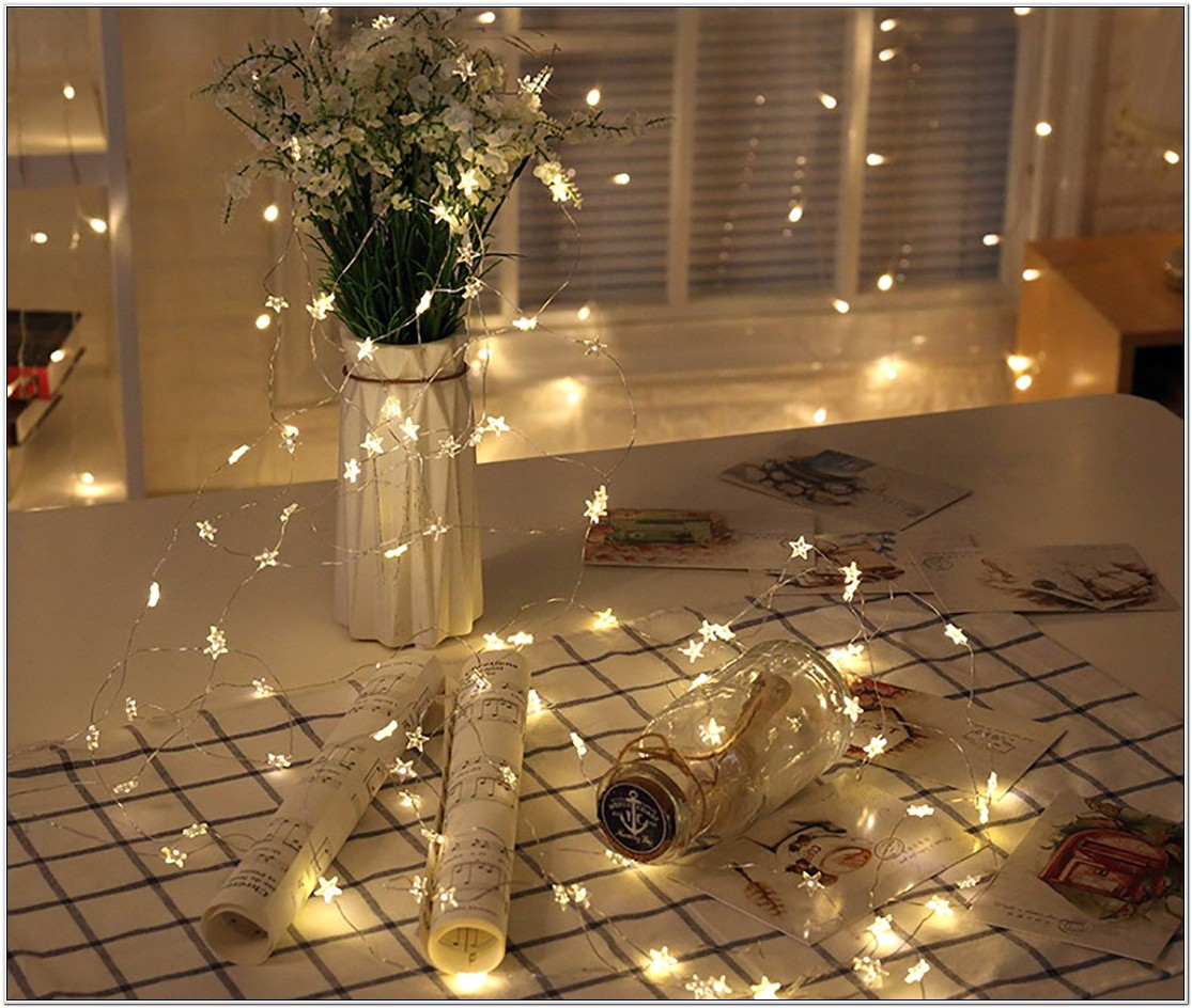 Fairy Lights For Bedroom Decoration