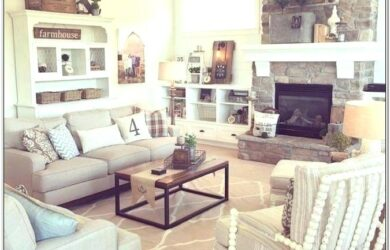 Farmhouse Chic Living Room Set