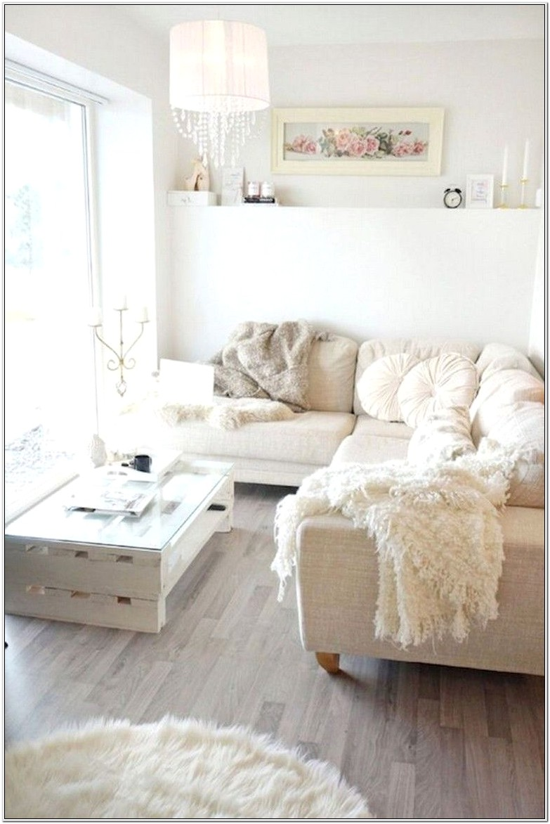 Farmhouse Chic Small Living Room
