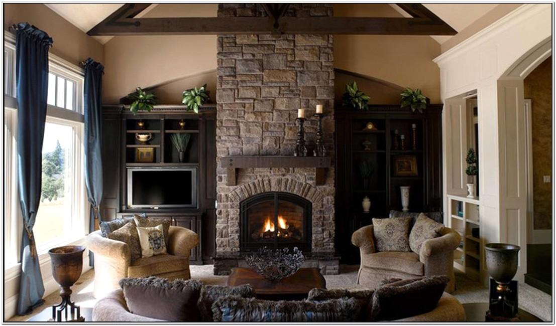 Fireplace Ideas Living Room Stone