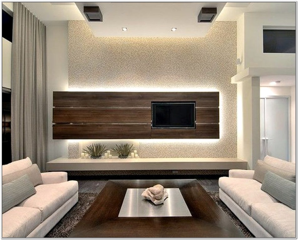 Floating Furniture In A Small Living Room