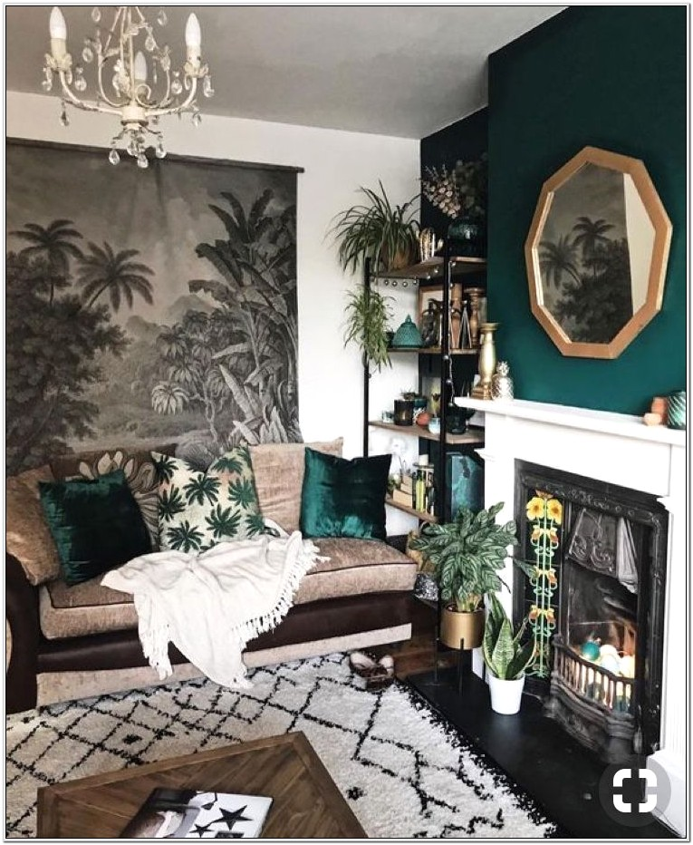 Forest Living Room Decor