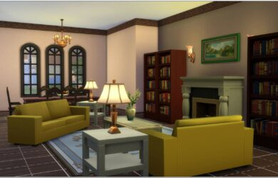 Free Sims 3 Living Room Sets