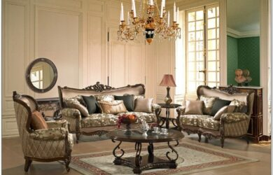 French Country Living Room Couch Pillow Set