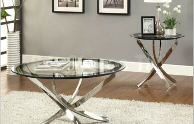 French Country Living Room Table Sets