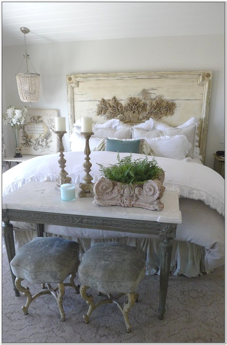 French Country Style Decorating Bedroom