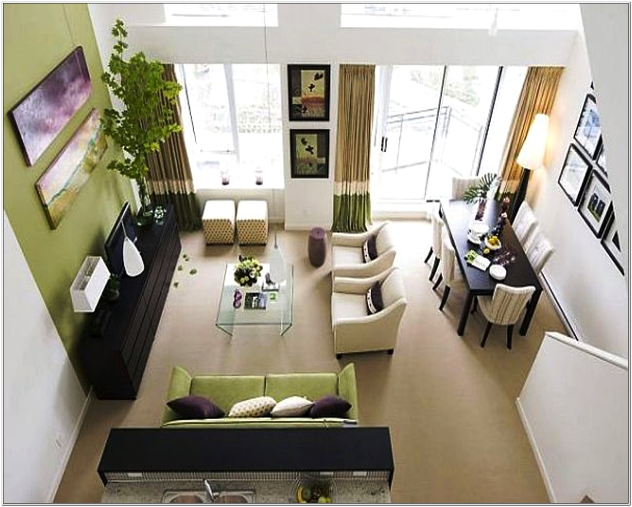 Furniture Layout In A Small Living Room