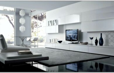 Futuristic Living Room Set