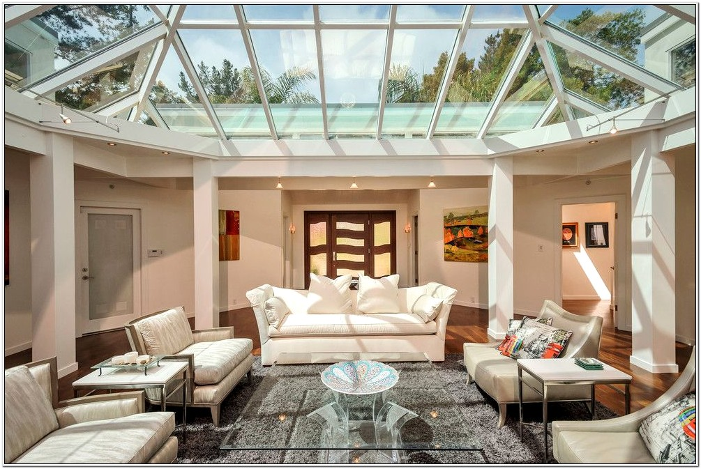 Glass Ceiling Design For Living Room