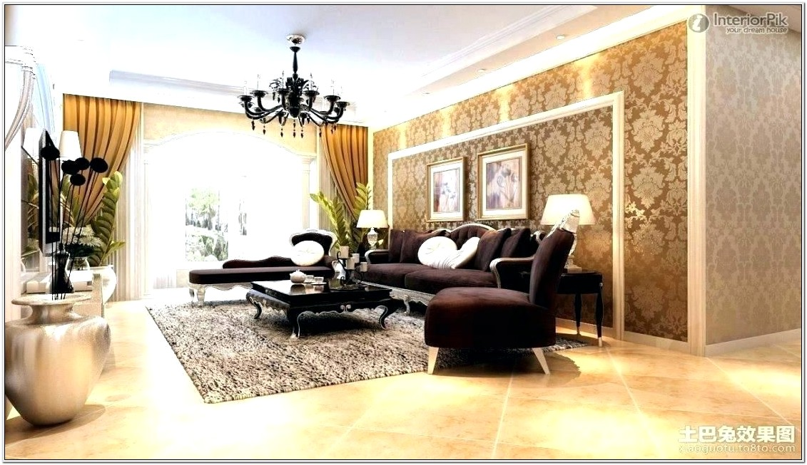 Gold Black Living Room Ideas