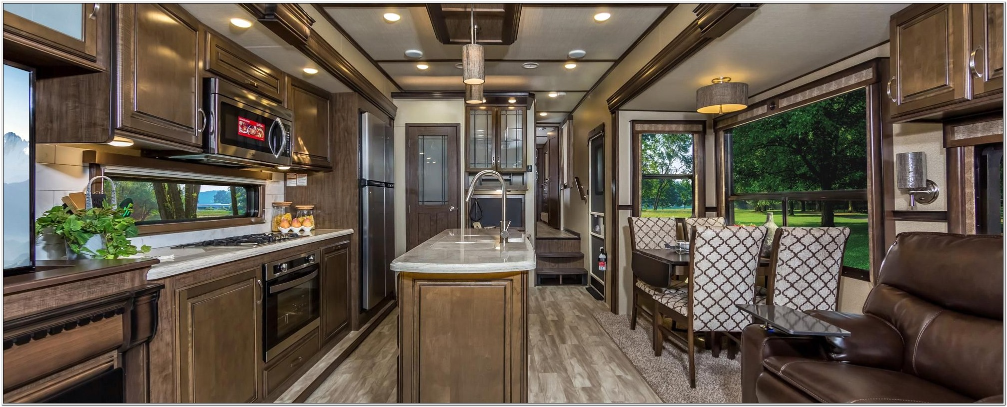 Grand Design 5th Wheel Front Living Room