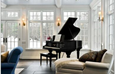 Grand Piano Small Living Room Layout
