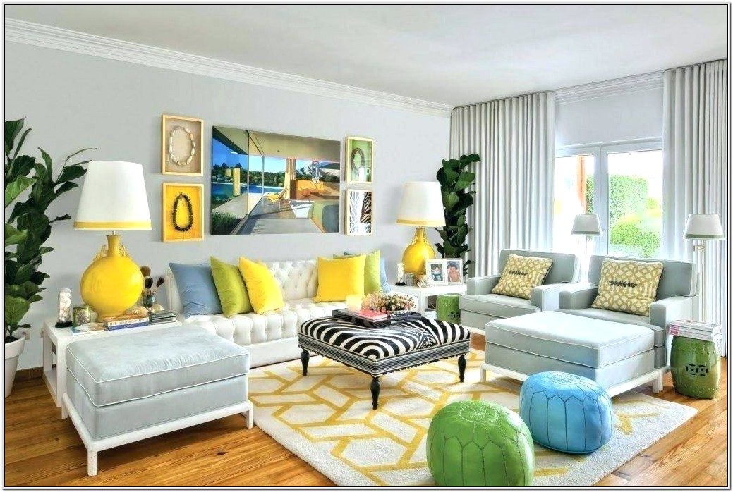 Gray And Teal Living Room Decorating Ideas