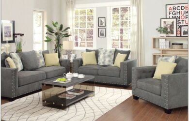 Gray Couch Living Room Sets