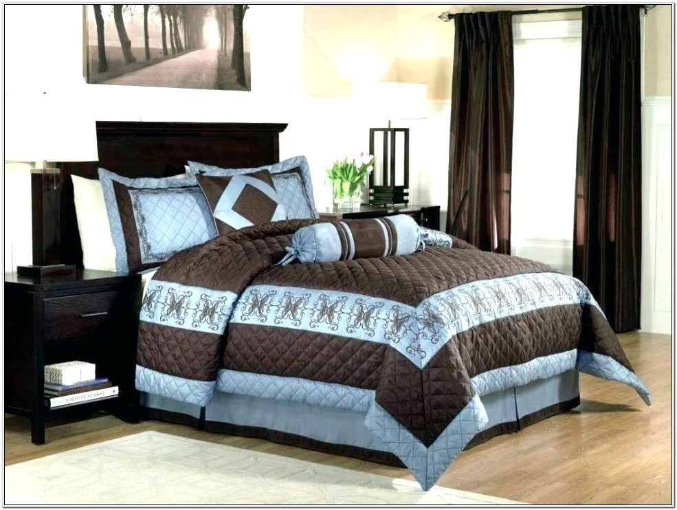 Gray Green And Brown Bedroom Decor