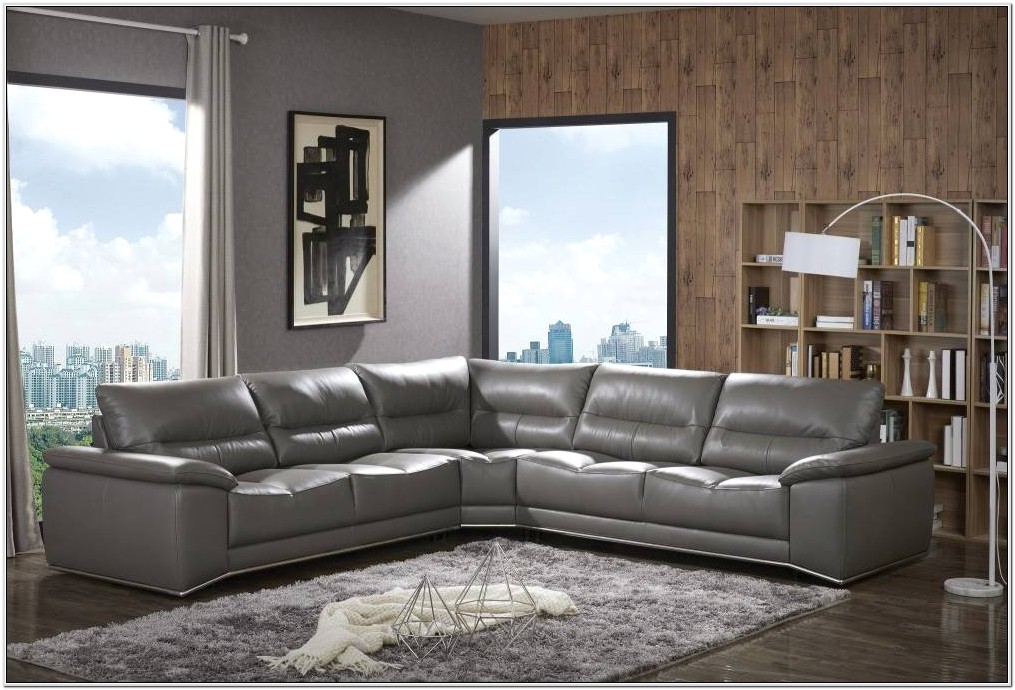 Gray Leather Leather Living Room Set Ideas
