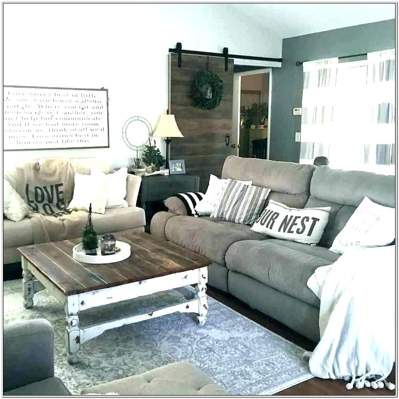 Gray Walls Living Room Decor