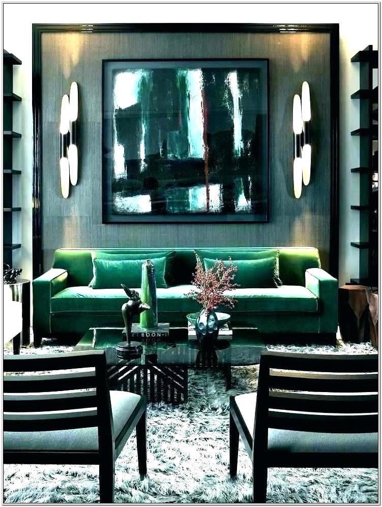 Green Couch Living Room Ideas