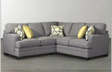 Grey L Shaped Couch Small Living Room