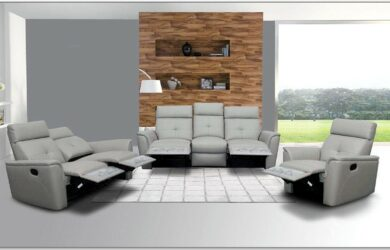 Grey Living Room Sets With Matching Recliner