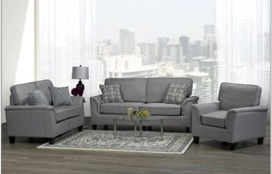 Grey Sofa Set Living Room