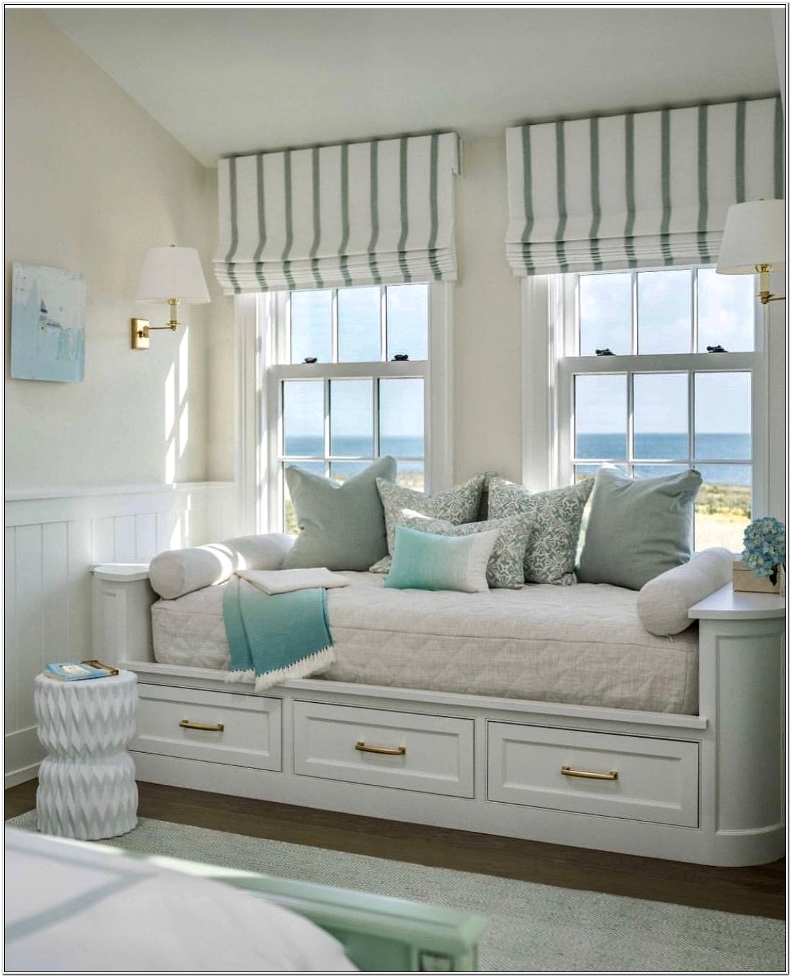 Homemade Nantucket Bedroom Decor