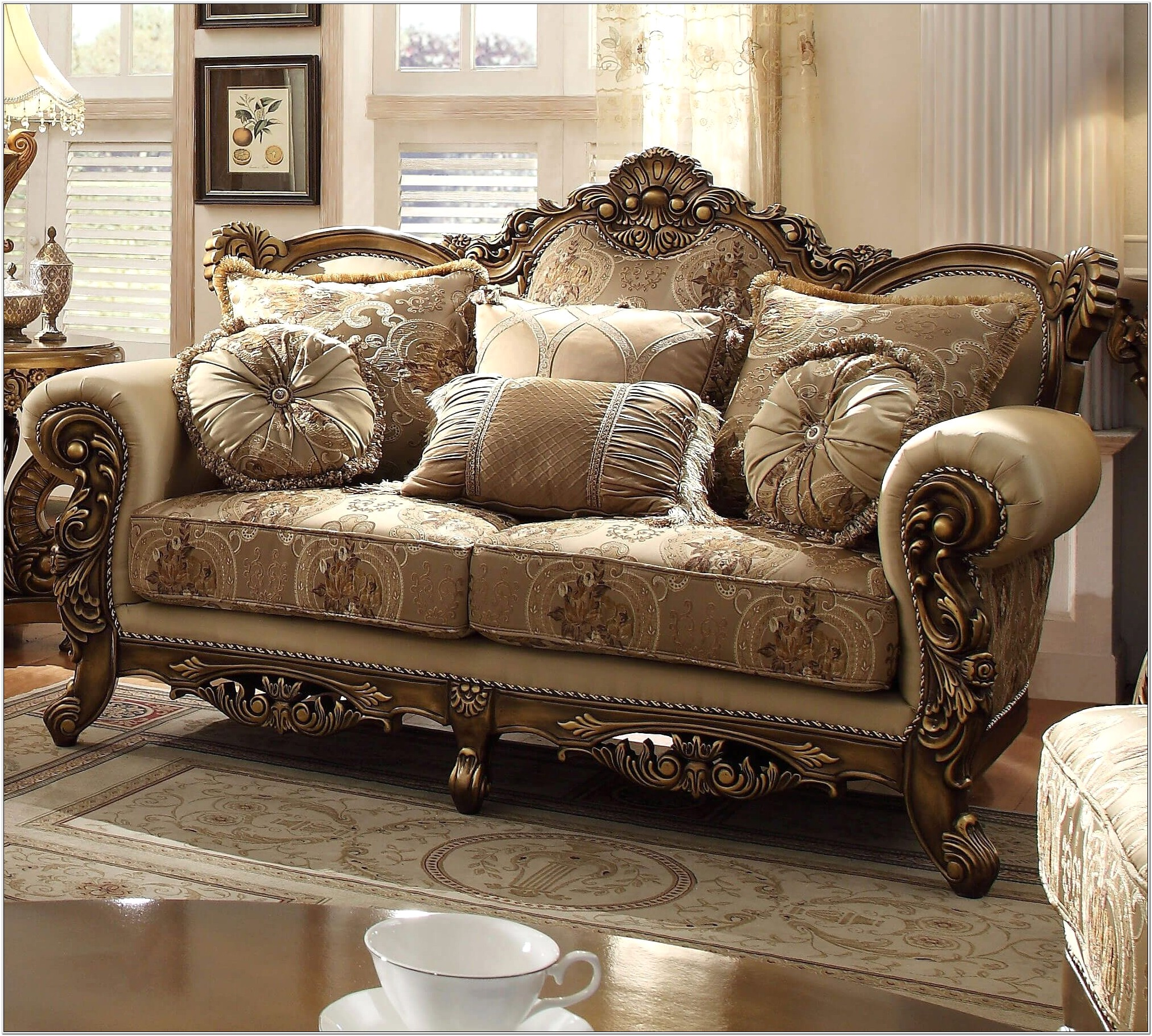 Homey Design Living Room Furniture