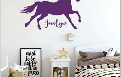 Horse Bedroom Decor For Girl