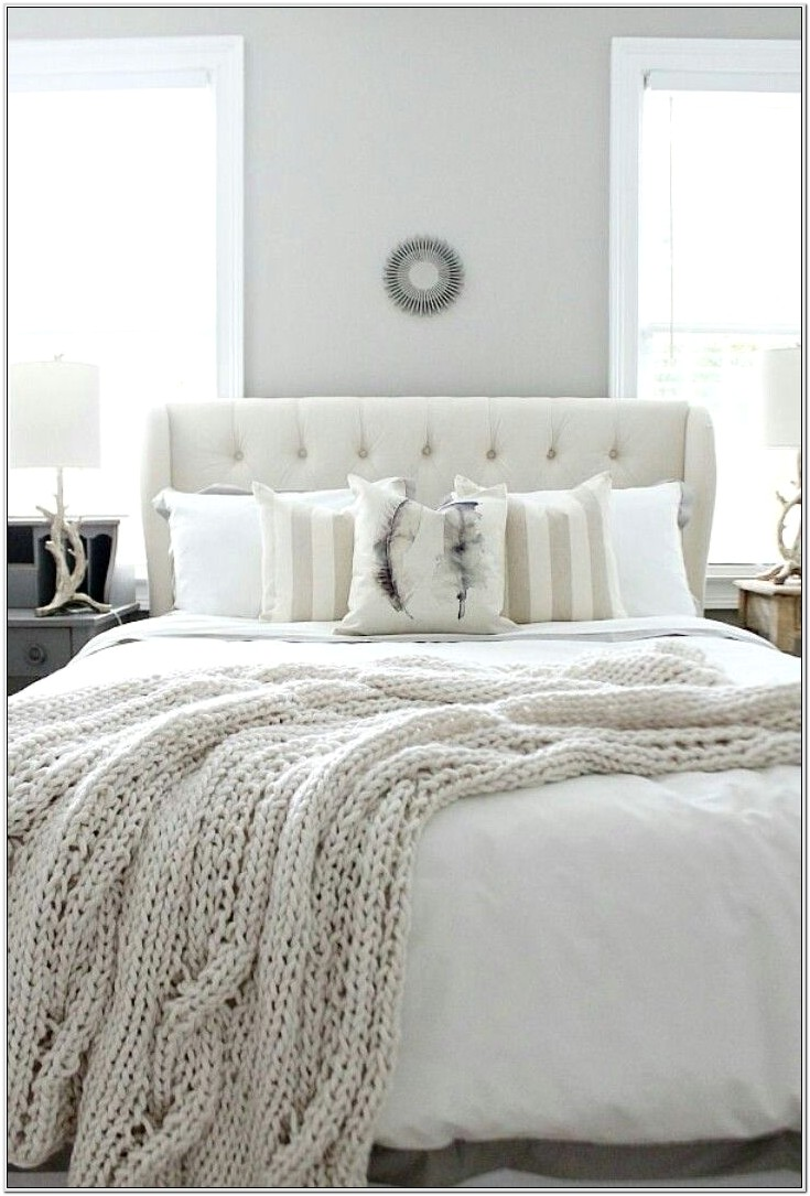 Ideas For Bedroom Decorations With White Furniture
