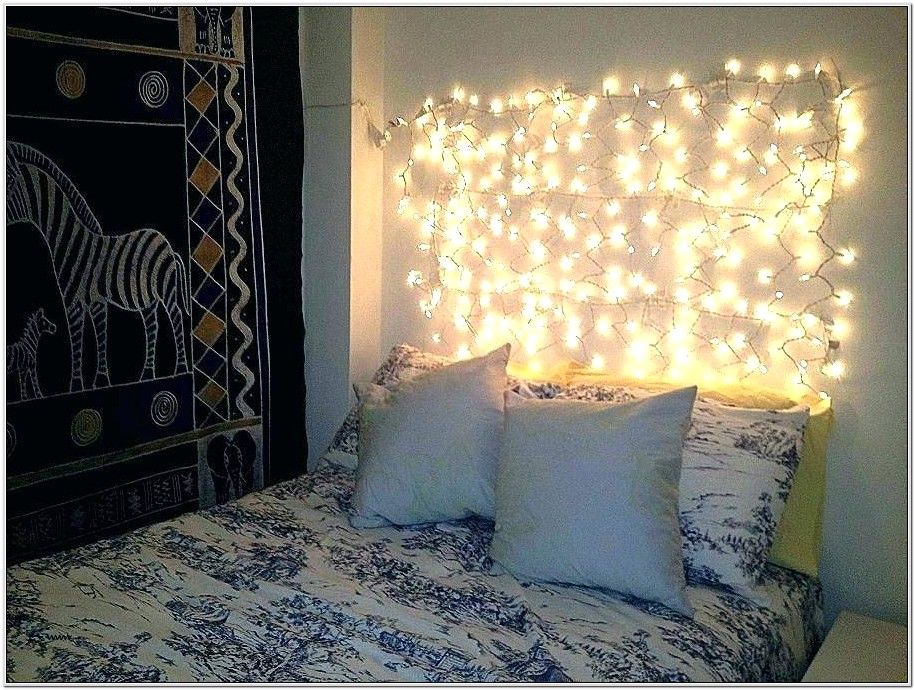 Ideas For Fairy Lights In Living Room