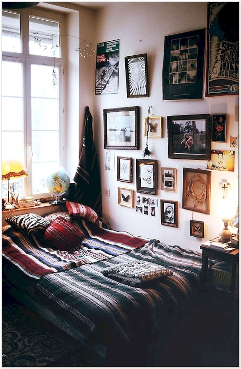 Indie Style Bedroom Decor