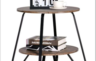 Industrial Small Living Room Table