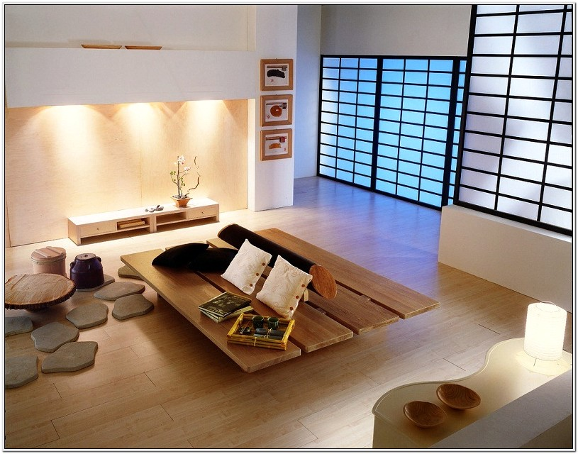 Japanese Living Room Idea
