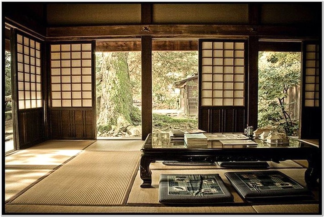 Japanese Style Decoration Living Room Traditional