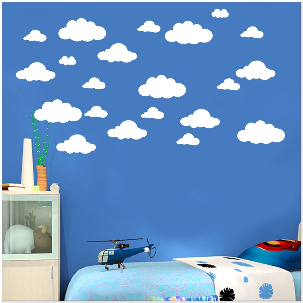 Kids Bedroom Wall Decor White