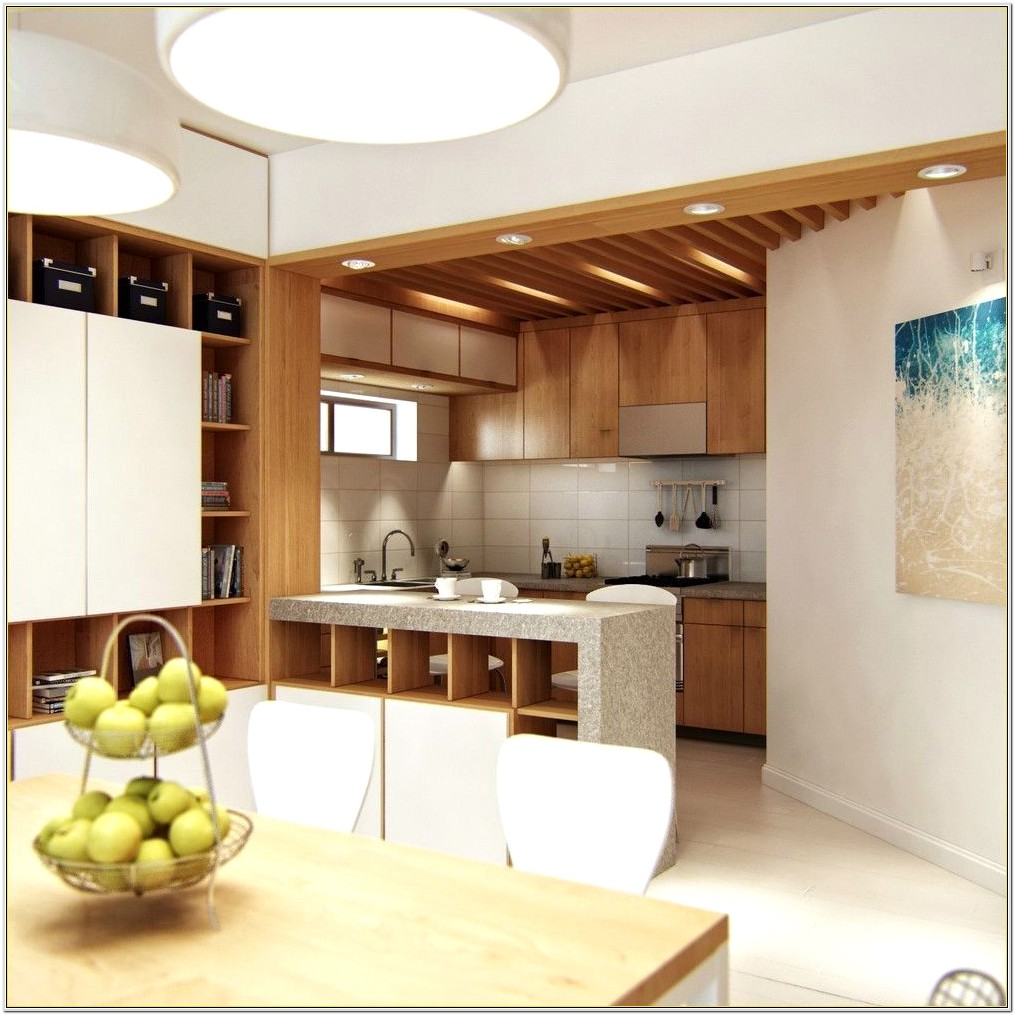 Kitchen Living Room Divider Ideas