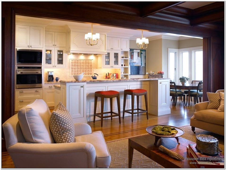 Kitchen Open Living Room Designs
