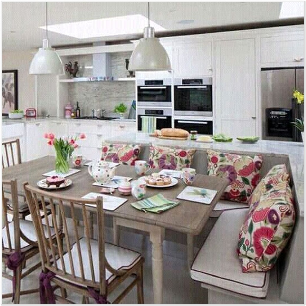 L Shaped Kitchen Living Room Ideas