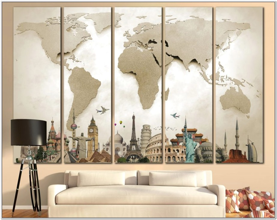 Large Wall Art Ideas For Living Room