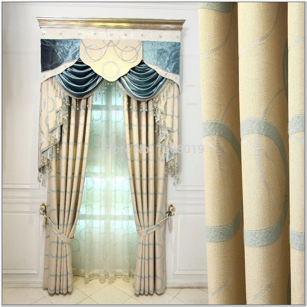Latest Curtain Designs For Living Room 2015