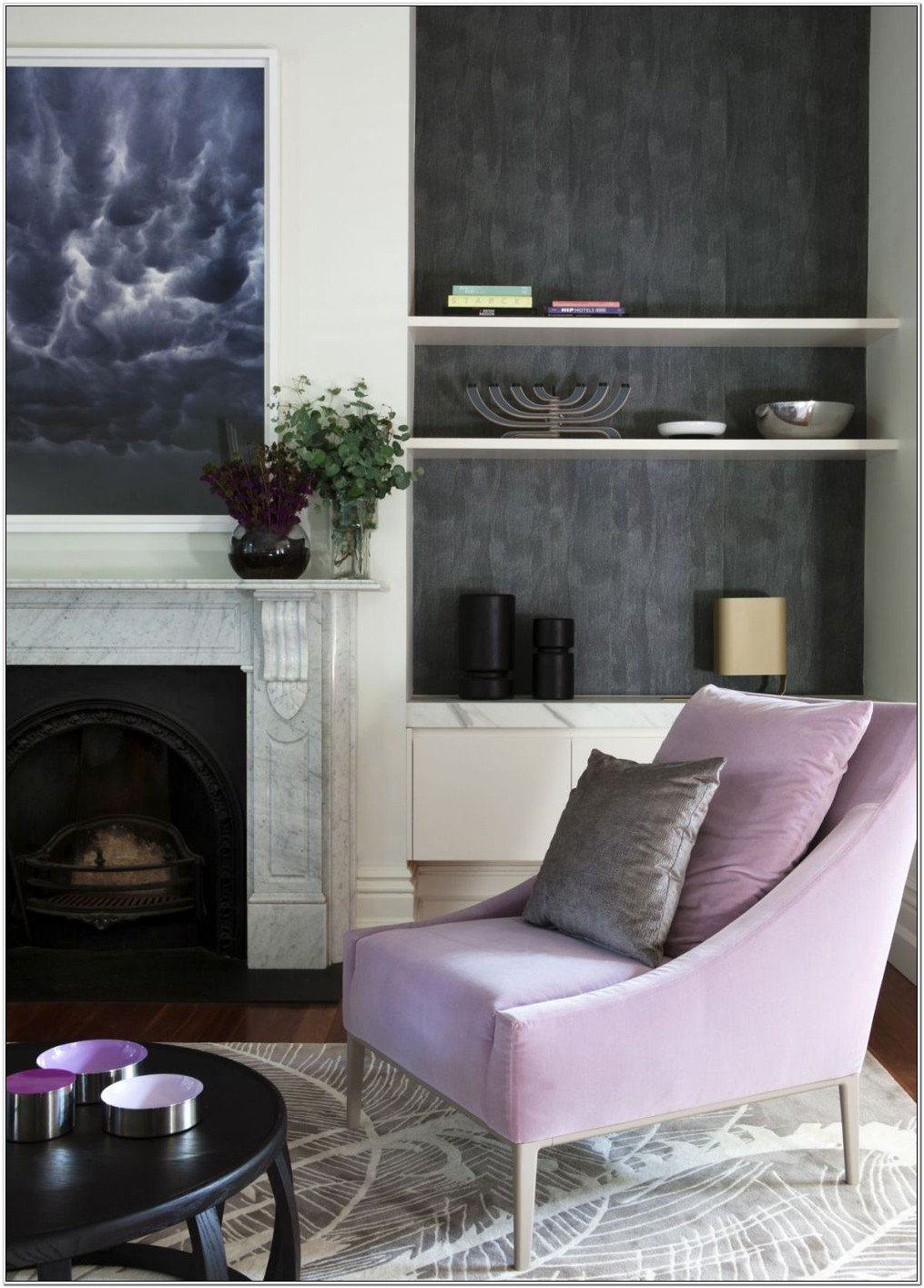 Lavender Living Room Decor