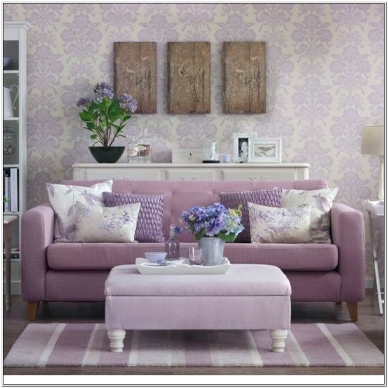 Lavender Living Room Ideas