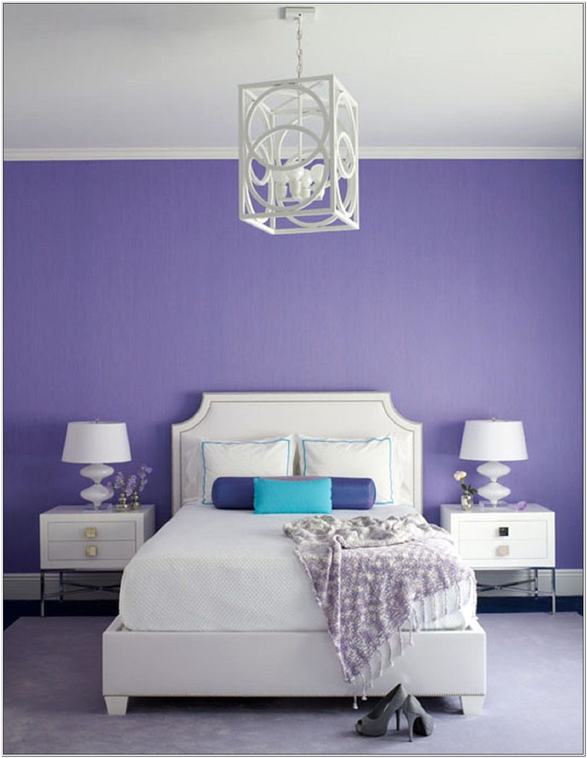 Lavender Master Bedroom Decorating Ideas