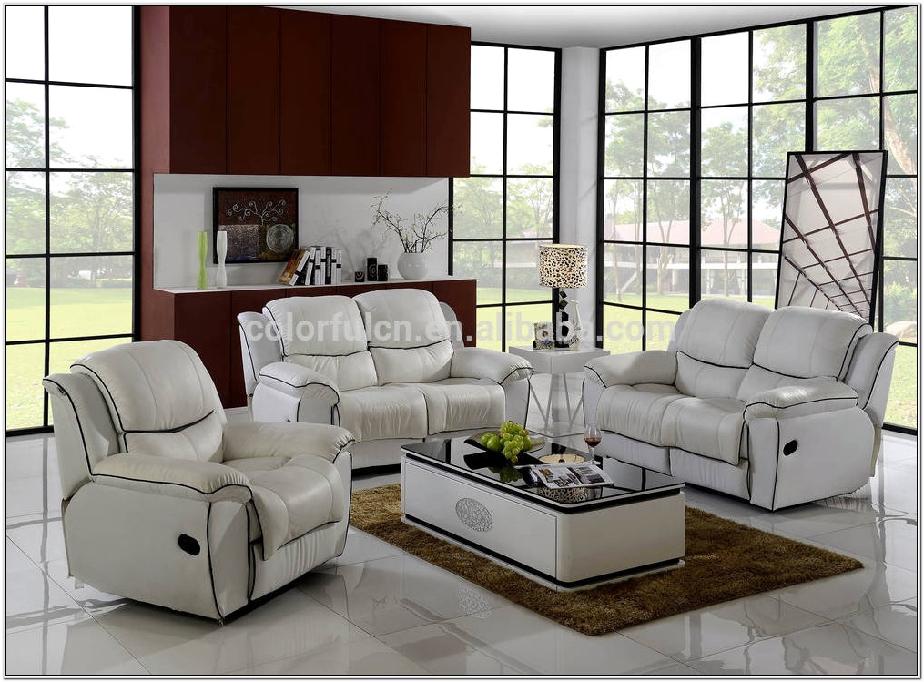 Lazy Boy Leather Reclining Living Room Sets