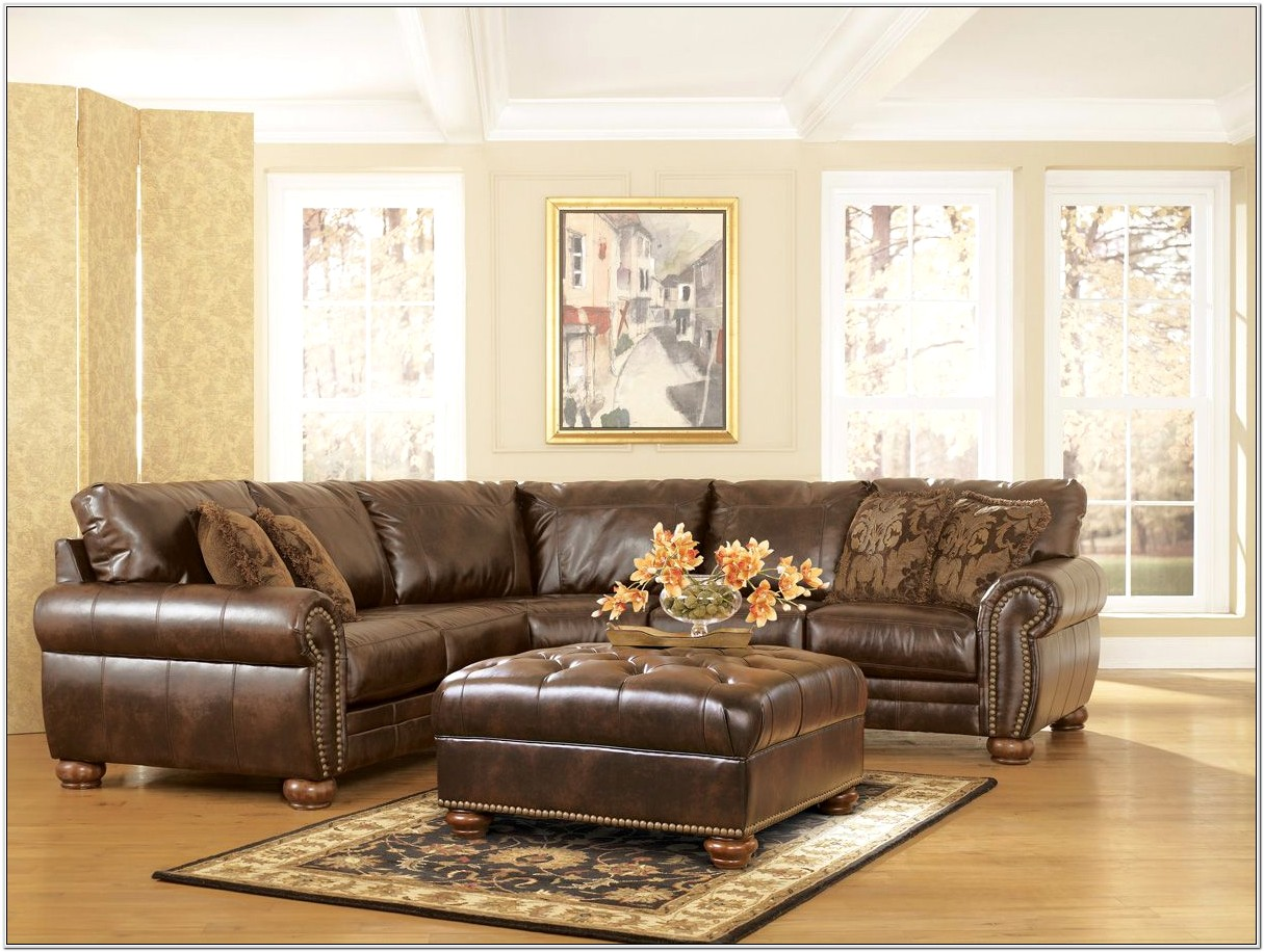 Leather Living Room Set 500