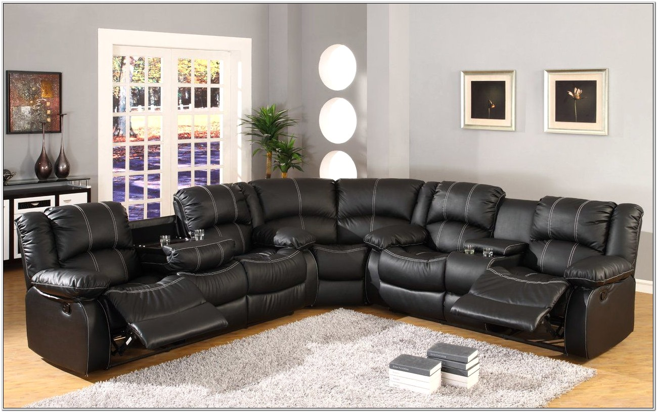 Leather Living Room Sets With Cup Holders