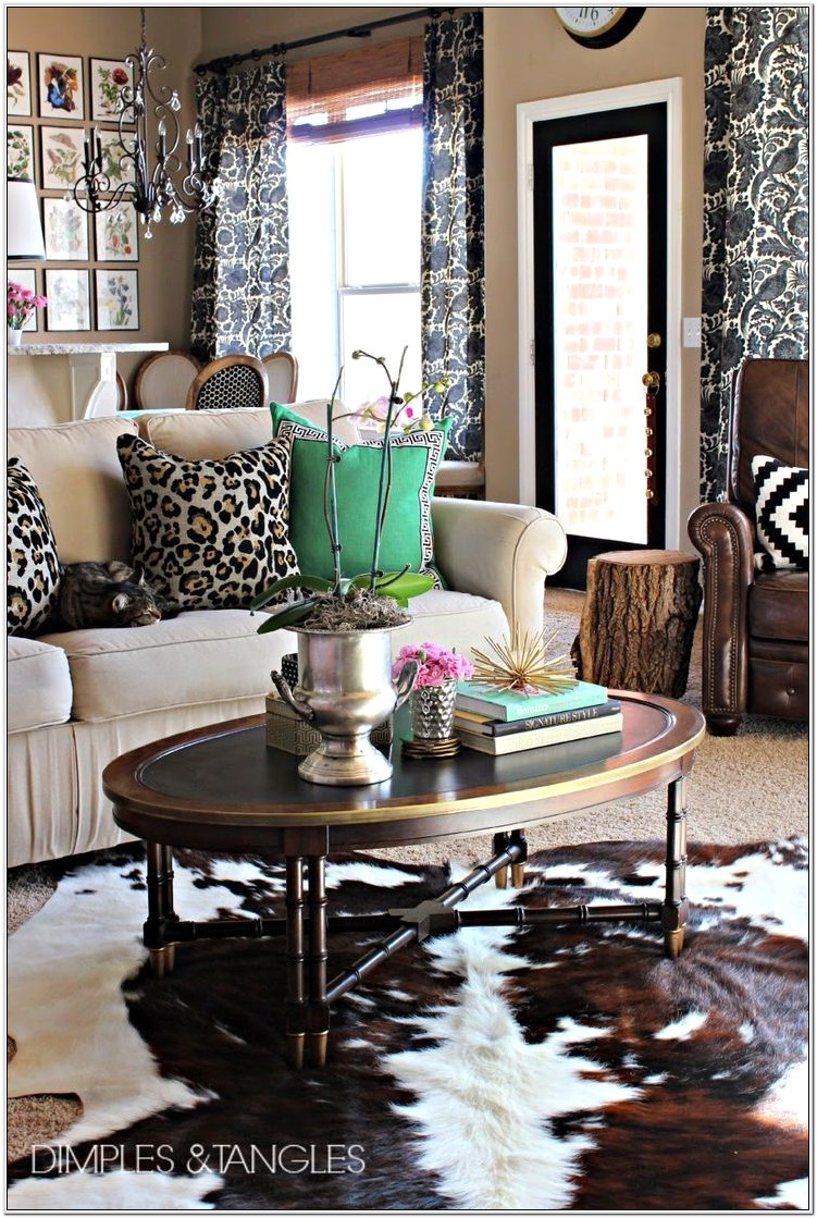 Leopard Living Room Ideas