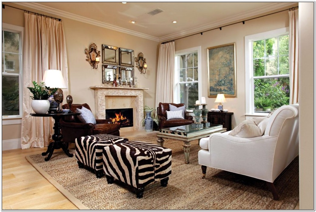 Leopard Print Living Room Ideas